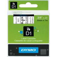 Картридж для принтера этикеток DYMO S0720670 D1 (9 мм x 7 м, цвет ленты прозрачный, шрифт черный)