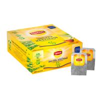 Чай Lipton черный экстра крепкий 100 пакетиков