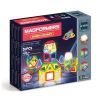 Конструктор магнитный Magformers 709007 Neon Led set