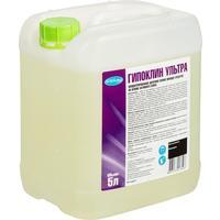 Моющее средство с дезинфицирующим эффектом Бриллиант Гипоклин Ультра 5 л (концентрат)