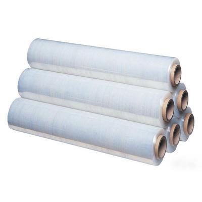 Стрейч-пленка для ручной упаковки вес 2 кг 17 мкм x 50 см x 255 м (престрейч 180%, 6 штук в упаковке)