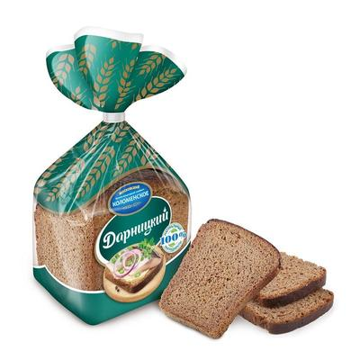 Хлеб Коломенский Дарницкий половина нарезка 350 г