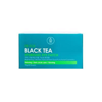 Патчи для глаз Med B с экстрактом черного чая (60 штук в упаковке)