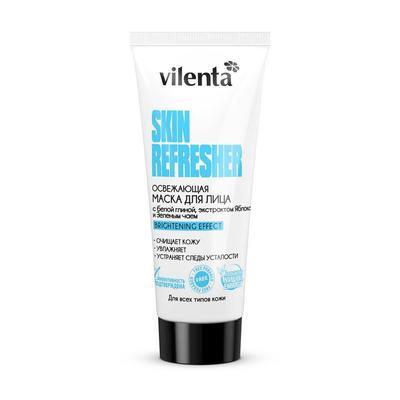 Маска для лица Vilenta Освежающая Skin Refresher с белой глиной/экстрактом яблока/зеленым чаем 75 мл