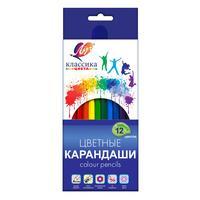 Карандаши цветные Луч Классика 12 цветов шестигранные