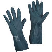 Перчатки Manipula Specialist Химик LN-F-08 из неопрена и латекса черные (размер 8-8.5, M)