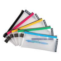 Папка-конверт Exacompta на молнии 95x200 мм в ассортименте 3 мм