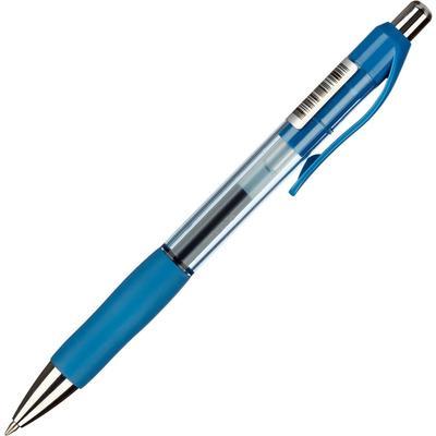 Ручка гелевая автоматическая Комус Urban синяя (толщина линии 0.5 мм)
