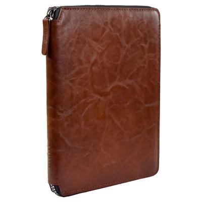 Ежедневник недатированный Феникс+ искусственная кожа A5+ 120 листов коричневый (175x225 мм)