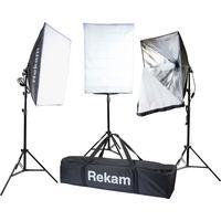 Комплект осветителей Rekam CL-375-FL3-SB Kit