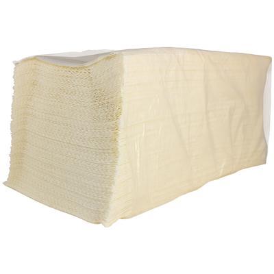 Полотенца бумажные листовые V-сложения 2-слойные 18 пачек по 200 листов