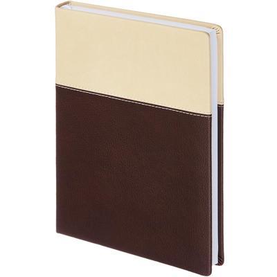 Ежедневник недатированный InFolio Patchwork искусственная кожа А5 160 листов коричневый (140х200 мм)