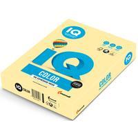 Бумага цветная для печати IQ Color желтая пастель YE23 (А3, 80 г/кв.м, 500 листов)