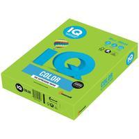 Бумага цветная для печати IQ Color зеленая интенсив LG46 (А4, 80 г/кв.м, 500 листов)