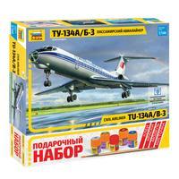 Сборная модель Звезда Пассажирский авиалайнер Ту-134А/Б-3
