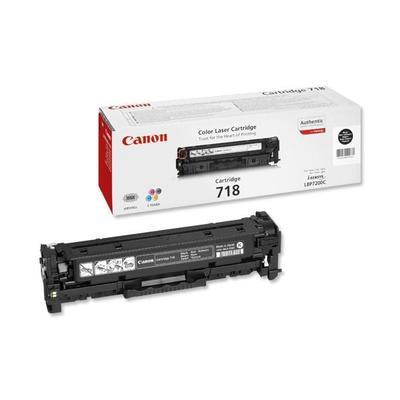 Картридж лазерный Canon 718 2662B002 черный оригинальный