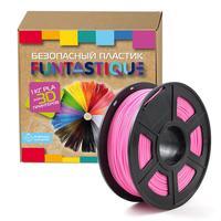 Пластик PLA для 3D-принтера Funtastique розовый 1.75 мм 1 кг
