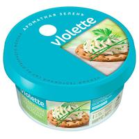 Сыр творожный Violette с зеленью 70% 140 г