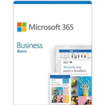 Программное обеспечение Microsoft 365 Business Basic электронная лицензия для 1 ПК на 1 месяц (AAA-10624)