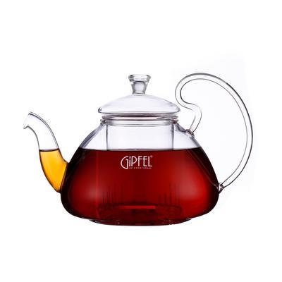 Чайник заварочный Gipfel стеклянный прозрачный 700 мл (артикул производителя 7089)
