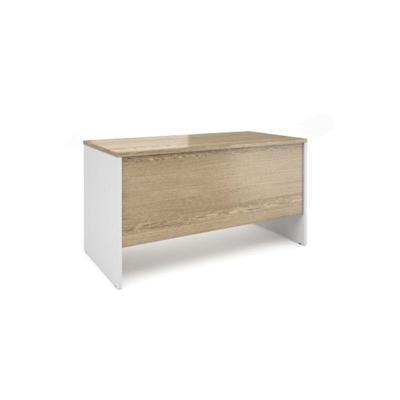 Уценка. Столы письменный Alba AL-1.1 (дуб нельсон/белый, 1380х680х750 мм). уц_меб