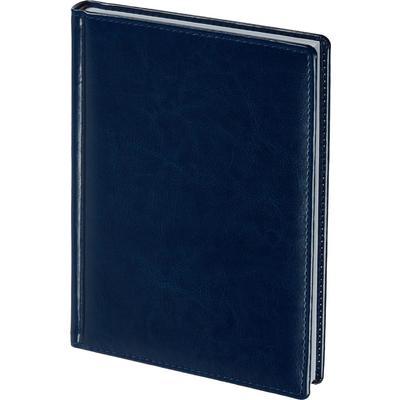 Ежедневник недатированный Attache Agenda искусственная кожа A5 176 листов синий (148x218 мм)
