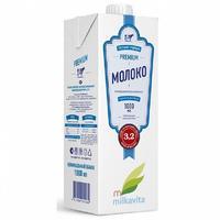 Молоко Милкавита ультрапастеризованное 3.2% 1 л