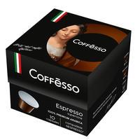 Кофе в капсулах для кофемашин Coffesso Espresso Superiore 10 штук в упаковке