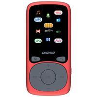 Плеер MP3 Digma B4 8Gb красный