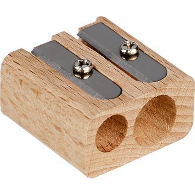 Точилка деревянная Attache Selection Nature два отверстия
