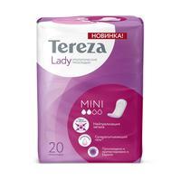 Прокладки урологические Tereza Lady Mini впитывающие (20 штук в упаковке)