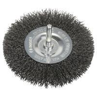 Щетка кольцевая волнистая сталь 100 мм для дрели Bosch (1609200273)