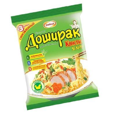 Лапша Доширак Квисти со вкусом курицы 70 г (48 штук в упаковке)