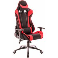 Кресло игровое Everprof Lotus S4 красное/черное (ткань, металл)
