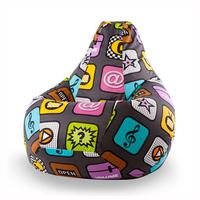 Кресло-мешок Play II (ткань жаккард)