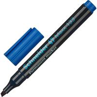 Маркер перманентный Schneider Maxx 133 синий (толщина линии 1-4 мм) скошенный наконечник