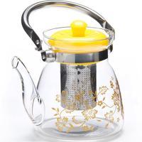 Чайник заварочный Mayer&Boch стеклянный прозрачный 1200 мл (артикул производителя МВ 26966)