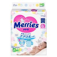 Подгузники Merries размер S 4-8 кг (82 штуки в упаковке)