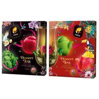Чай Curtis Dessert Blooming Tea Collection 40 пакетиков