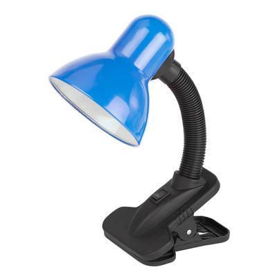 Светильник настольный ЭРА N-102 E27 синий