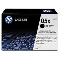 Картридж лазерный HP 05X CE505X черный оригинальный повышенной емкости