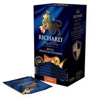 Чай Richard Royal Orange & Cinnamon черный 25 пакетиков