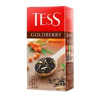 Чай Tess Goldberry черный 25 пакетиков